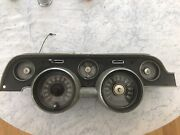 1967 67 Mustang Instrument Cluster 120 Mph 6000 Rpm Tachometer Used Gt