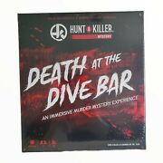 Hunt A Killer Death At The Dive Bar Immersive Murder Mystery Game Ages 14+ New