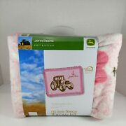 2009 John Deere Collection No Sew Fleece Throw Kit Blanket Nwt Official Licensed