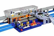 Plastic Rail Be The Station Manager Action Toy Train Set New Ship From Japan