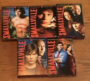 Smallville Seasons 1-3, 5 And 8 Dvd Sets Season 4, 6, 7, 9 And 10 Not Included