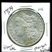 1879 P Au Morgan Dollar 100 Cent About Uncirculated 90 Silver Us 1 Coin 3975