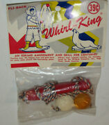 Unused Vintage Fli-back Whirl King Eskimo Amusement And Skill Whirling Toy Nos