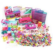 Huge Lot Of 430+ Shopkins Toys Mixed Seasons Figures Playsets Cases Super Mall