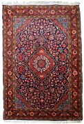 Handmade Antique Oriental Rug 2.2and039 X 3.2and039 67cm X 97cm 1920s - 1b819