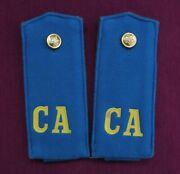 Rare Russian Soviet Air Force Soldier Soft Shoulder Boards Arr. 1969