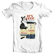 Hamms Beer T-shirt Bear Vintage Style Distressed Print Cotton Graphic Free Ship