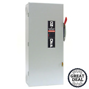 Ge Generator Power Transfer Safety Switch Non Fused Manual 100 Amp Panel Box