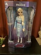 Disney Store Frozen 2 Limited Edition Elsa And Anna Doll