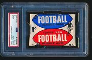 1957 Topps Football Unopened Wax Pack 1-cent Psa 9