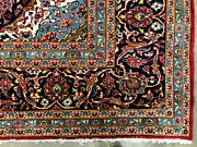 10x13 Red Vintage Wool Rug Hand-knotted Antique Handmade Oriental Big 9x13 10x14