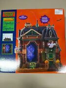 Lemax Spooky Town Black Raven Manor New In Box Halloween
