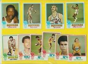 10 1973 1974 Topps Aba Squires Qand039s Stars Rc Lot 25 Johnson Taylor Williams