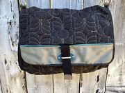 Fossil Large Key Per Quilted Messenger Baby Crossbody Bag Magnetic Closure