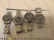 4 Watch Lot Mixed Men's Fossil