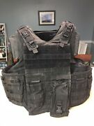 Protech Tactical 3x Molle Plate Carrier Body Armor Vest With Iiia Armor