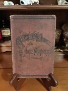 Home And Health And Home Economics By Fowler 1880 Antique Vintage Oddities Rare