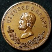 Rare Gen Ulysses Grant Monument Coin Token1891bronze I Couldnt Find One As Picand039d