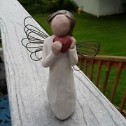 Willow Tree Figurines3 Loving Angel Just For You And Angel Of The Heart