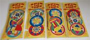 Vintage Spin The Tops Toys On Original Card Lot Of 3 Plus