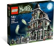 New Sealed Lego Monster Fighters Haunted House 10228 Rare And Discontinued