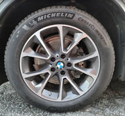 Bmw X5 F15 Winter Wheels With Michelin Cross Climate Tires Set Of 4