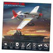Rc Plane Remote Control Airplane Glider 761-5 Mustang P L15.7in W12.5in