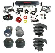 Complete Air Ride Suspension Kit W/evolve Manifold Bags And Steel Tank 1988-98 C15