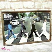 Beatles Oversized Large Size Retro Tin Sign Metal Plate Art Posters Antique