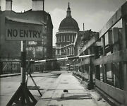 Wolfgang Suschitzky St. Pauland039s Cathedral London Wwii 1942 / Pix-k / Vintage