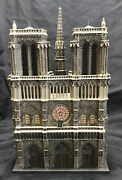 Dept 56 Churches Of The World Notre Dame Cathedral Paris Mib