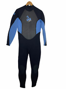 Xcel Womens Full Wetsuit Size 12 Thermolite 3/2 Back Zip - Excellent Condition