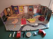 1988 Pee-wee's Playhouse Playset Accessories Matchbox Read