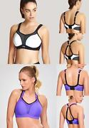 Panache Padded Sports Bra Non Wired Moulded Cup Sport Bras 7341a Activewear