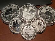 🏴andzwj☠️ Black Flag Fleet Silver Coin Complete Set All Coins 🏴andzwj☠️