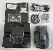 New In Box Unlocked Blackberry Bold 9900 Black Cell Phone All Accessories 3g New