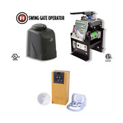Viking F1 Access Heavy Duty Swing Commercial Gate Openers With Safety Photocell.