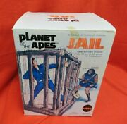 Vintage 1974 Mego Planet Of The Apes Jail Set With Padlock In Original Box