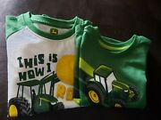 Boys/youth John Deere Short Sleeve T-shirts, Lot 2, 2t And 3t