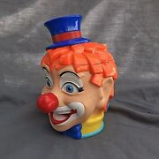 The Greatest Show On Earth Ringling Bros. Circus Clown Mug Cup Ginger Red Head