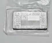 Chile National Flag - Silver Producer .999 Pure Silver Mint Bar Ingot