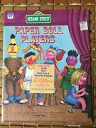Vintage 1976 Sesame Street Muppets Paper Doll Players Book Whitman - Never Used