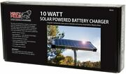 10 Watt Solar Panel Kit Fm123 For Mighty Mule Automatic Gate Openers -black Cell