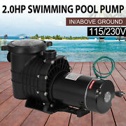 2hp In/above Ground Hayward Swimming Pool Filter Pump Motor Strainer 1500w