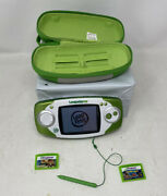 Leapfrog Leapster Gs Explorer Ultimate Learning Game System W/ 2 Games +, Works