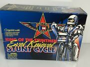 1998 Evel Knievel Stunt Cycle King Of The Stuntmen By Playing Mantis - New