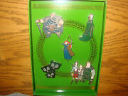 Disney Pixar Brave Collection 5 Pin Set Le 250 Merida And Her Royal Court New