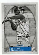 2021 Topps Gypsy Queen Ozzie Albies Black And White Card /50