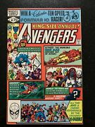 Avengers Annual 10 1980 1st Rogue Vf- Nice Higher Grade Copy