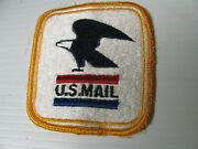 Usps Vintage But New Square Sew On Eagle Patch